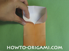 House origami - how to origami house instruction15