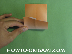 House origami - how to origami house instruction7