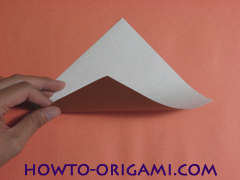 Locust or cicada origami - How to make Locust or cicada origami instruction 1