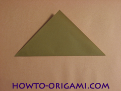 Locust or cicada origami - How to make Locust or cicada origami instruction 2