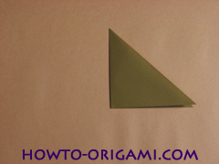 Locust or cicada origami - How to make Locust or cicada origami instruction 4