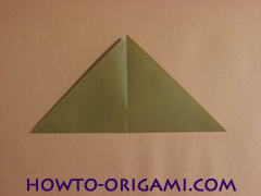 Locust or cicada origami - How to make Locust or cicada origami instruction 5