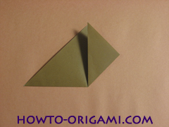 Locust or cicada origami - How to make Locust or cicada origami instruction 6