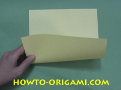 Pop gun origami or Party popper origami - How to make active play origami instruction 1- Children's origami