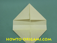 Pop gun origami or Party popper origami - How to make active play origami instruction 10- Children's origami
