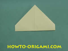 Pop gun origami or Party popper origami - How to make active play origami instruction 12- Children's origami