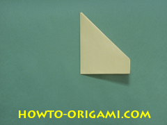 Pop gun origami or Party popper origami - How to make active play origami instruction 14 - Children's origami