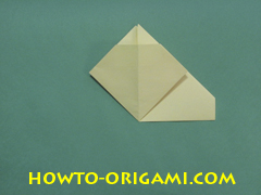 Pop gun origami or Party popper origami - How to make active play origami instruction 16 - Children's origami