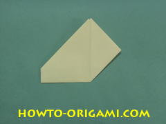 Pop gun origami or Party popper origami - How to make active play origami instruction 18 - Children's origami