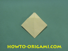 Pop gun origami or Party popper origami - How to make active play origami instruction 20 - Children's origami