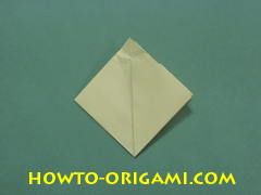 Pop gun origami or Party popper origami - How to make active play origami instruction 22 - Children's origami