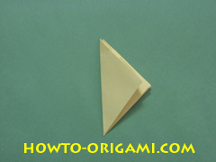 Pop gun origami or Party popper origami - How to make active play origami instruction 23 - Children's origami