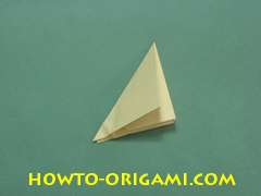 Pop gun origami or Party popper origami - How to make active play origami instruction 24 - Children's origami
