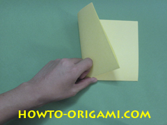 Pop gun origami or Party popper origami - How to make active play origami instruction 3- Children's origami