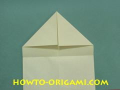 Pop gun origami or Party popper origami - How to make active play origami instruction 7- Children's origami