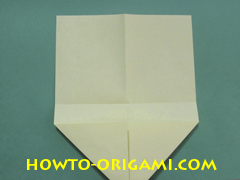 Pop gun origami or Party popper origami - How to make active play origami instruction 8- Children's origami
