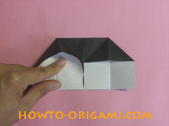Piano origami - How to make piano origami instruction10 - Kids origami