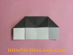 Piano origami - How to make piano origami instruction11 - Kids origami