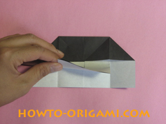 Piano origami - How to make piano origami instruction12 - Kids origami