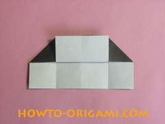 Piano origami - How to make piano origami instruction13 - Kids origami