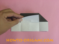 Piano origami - How to make piano origami instruction14 - Kids origami