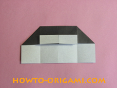 Piano origami - How to make piano origami instruction15 - Kids origami