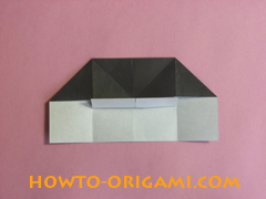 Piano origami - How to make piano origami instruction16 - Kids origami
