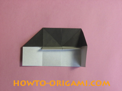 Piano origami - How to make piano origami instruction17 - Kids origami