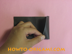 Piano origami - How to make piano origami instruction5 - Kids origami