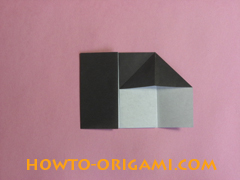 Piano origami - How to make piano origami instruction9 - Kids origami