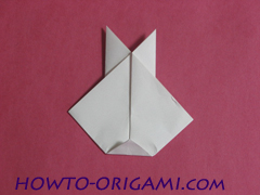 how to origami rabbit instruction 10 - easy origami for kid