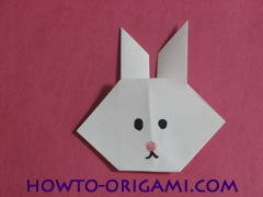 how to origami rabbit instruction 12 - easy origami for kid