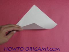 how to origami rabbit instruction 2 - easy origami for kid
