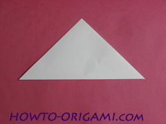 how to origami rabbit instruction 3 - easy origami for kid