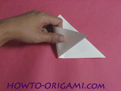 how to origami rabbit instruction 4 - easy origami for kid