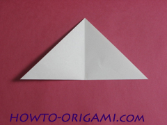 how to origami rabbit instruction 6 - easy origami for kid