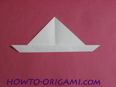 how to origami rabbit instruction 7 - easy origami for kid