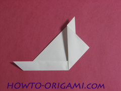 how to origami rabbit instruction 8 - easy origami for kid
