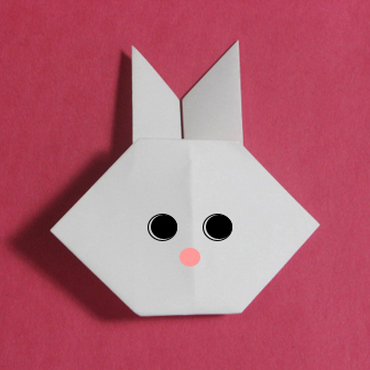 How to Make a Traditional Origami Rabbit | 336x336