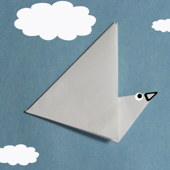 Birds origami - how to origami simple bird instruction