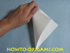 Birds origami - how to origami simple bird instruction2