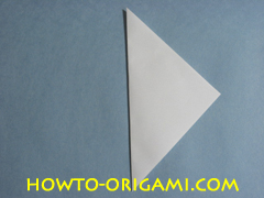 Birds origami - how to origami simple bird instruction3