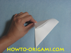Birds origami - how to origami simple bird instruction4