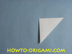 Birds origami - how to origami simple bird instruction5