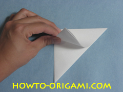 Birds origami - how to origami simple bird instruction6