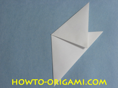 Birds origami - how to origami simple bird instruction7