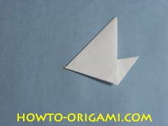 Birds origami - how to origami simple bird instruction8