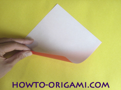 Simple flower origami - how to origami simple flower instruction1