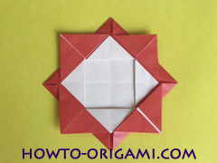Simple flower origami - how to origami simple flower instruction17