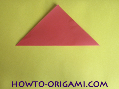 Simple flower origami - how to origami simple flower instruction2